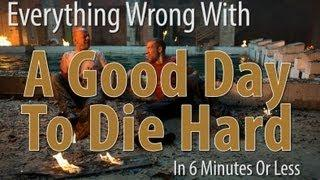 Movie Mistakes From A Good To Die Hard