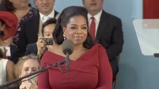 Oprah Winfrey's Commencement Speech At Harvard University