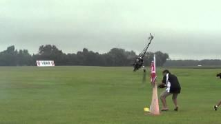 RC Helicopter Vs Guy FAIL