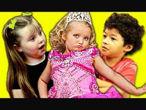 Jokes - Funny Kid's Reaction To Honey Boo Boo