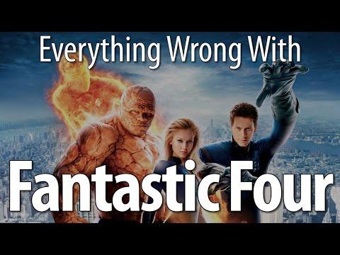 Movie Mistakes From Fantastic Four
