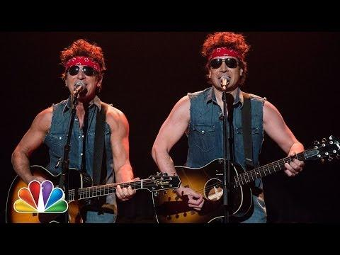 Funny Parody Governor Christie Traffic Jam Song By Bruce Springsteen & Jimmy Fallon