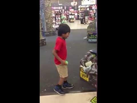 Funny Kid Falls For The Spider Scare Prank
