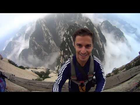Hua Shan's Plank Walk Will Make Your Palms Sweat