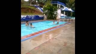 Jumping Into The Pool With Friends FAIL