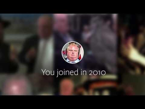 What If Toronto Mayor Had A Facebook - Facebook Movie Spoof