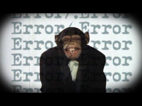 Creepy And Crazy Video With Chimps