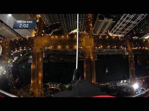 Nik Wallenda's Walk Across Chicago Skyline Will Make Your Palms Sweat