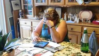 Funny Woman's Reaction While Reading Autocorrect Fails