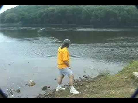 Awesome - Stone Skipping