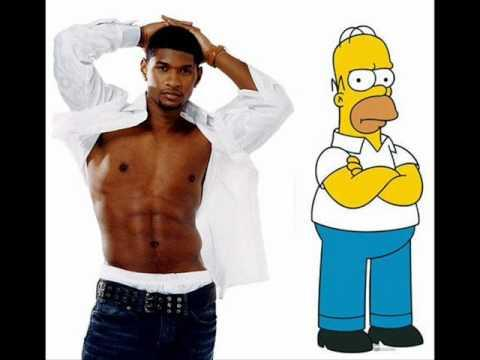 Usher Copied The OMG Song Idea From The Simpsons