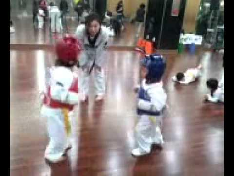 Cute - Kids Showing Off Martial Arts Skills