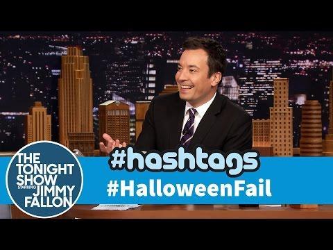 Funny Halloween Fail Hashtag By Jimmy Fallon