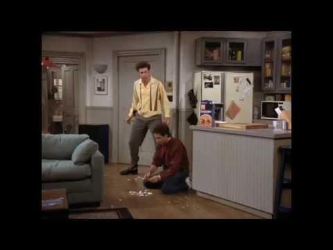 Compilation Of Kramer Stealing Food From Jerry Seinfeld