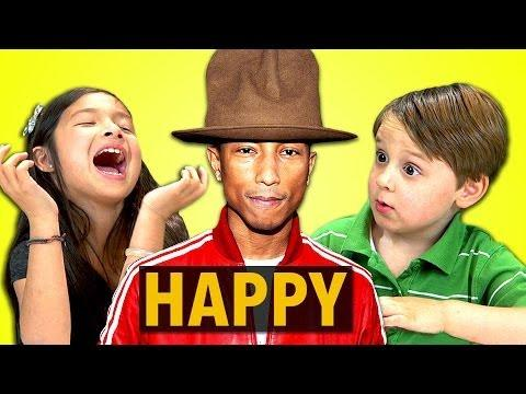 Funny Kids Reaction To Pharrell Williams' Happy Song