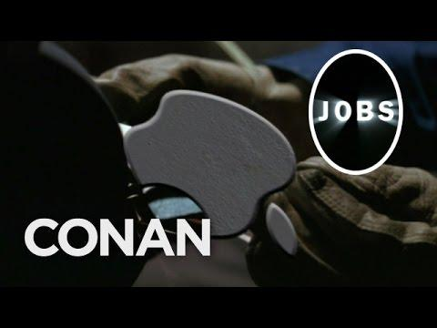 Movie About Steve Jobs Starring Christian Bale Parody By Conan