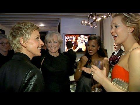 Behind The Scenes Of Ellen Hosting The Oscars