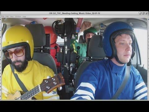 OK Go - Needing Or Getting Music Video Using A Car