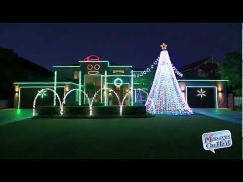 Amazing - Gangnam Style House Christmas Light Show