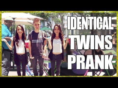 Twins Pull A Funny Prank On People