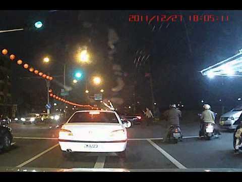 FAIL - Crazy Scooter Crash