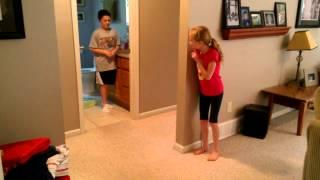 Cutest Scare Prank Pulled On The Toddler