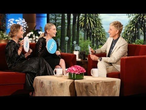 Funny Interview Of Ashley And Mary-Kate Olsen On Ellen