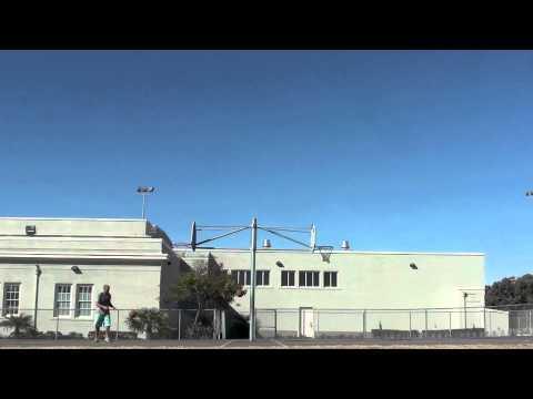Awesome - Basketball Trick Shot Using Two Balls