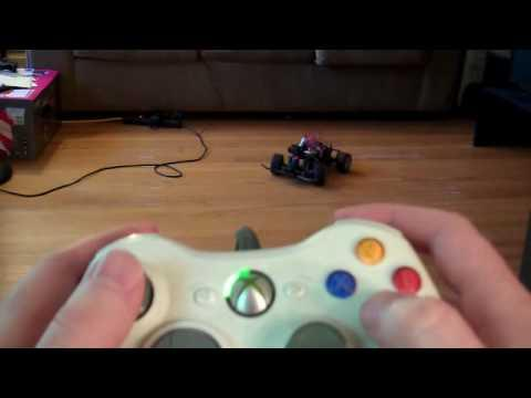 Geeky - Creeper Bot Controlled With Xbox 360 Controller